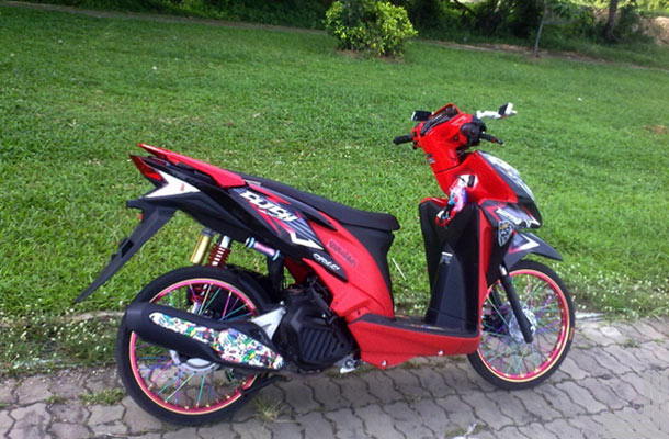 modifikasi motor vario 2017